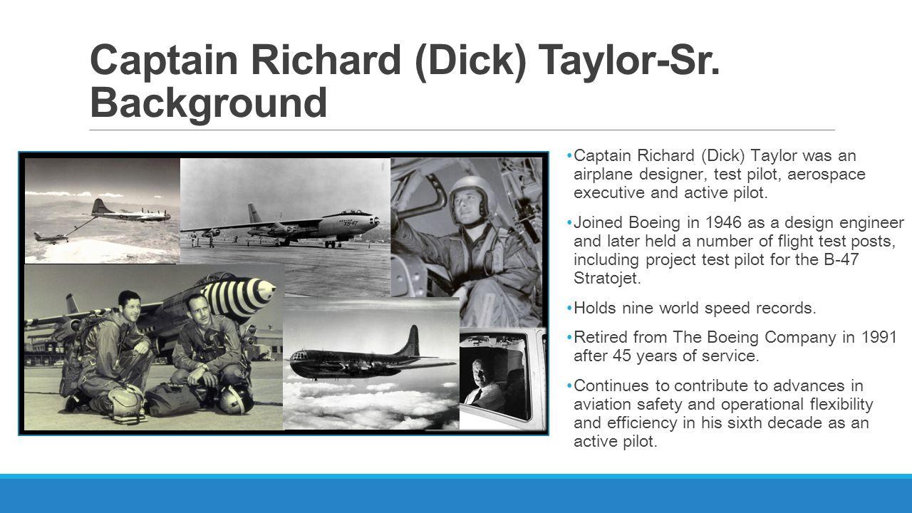 Captain Richard (Dick) Taylor-Sr.