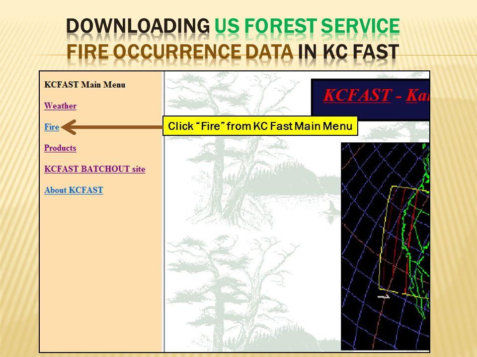 Click Fire from KC Fast Main Menu