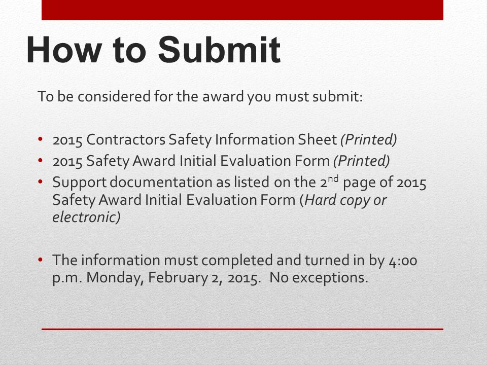 Section 2–OSHA Lost Workday Cases Score up to 150 Points