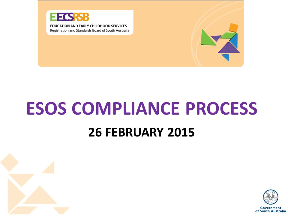 ESOS COMPLIANCE PROCESS 26 FEBRUARY 2015