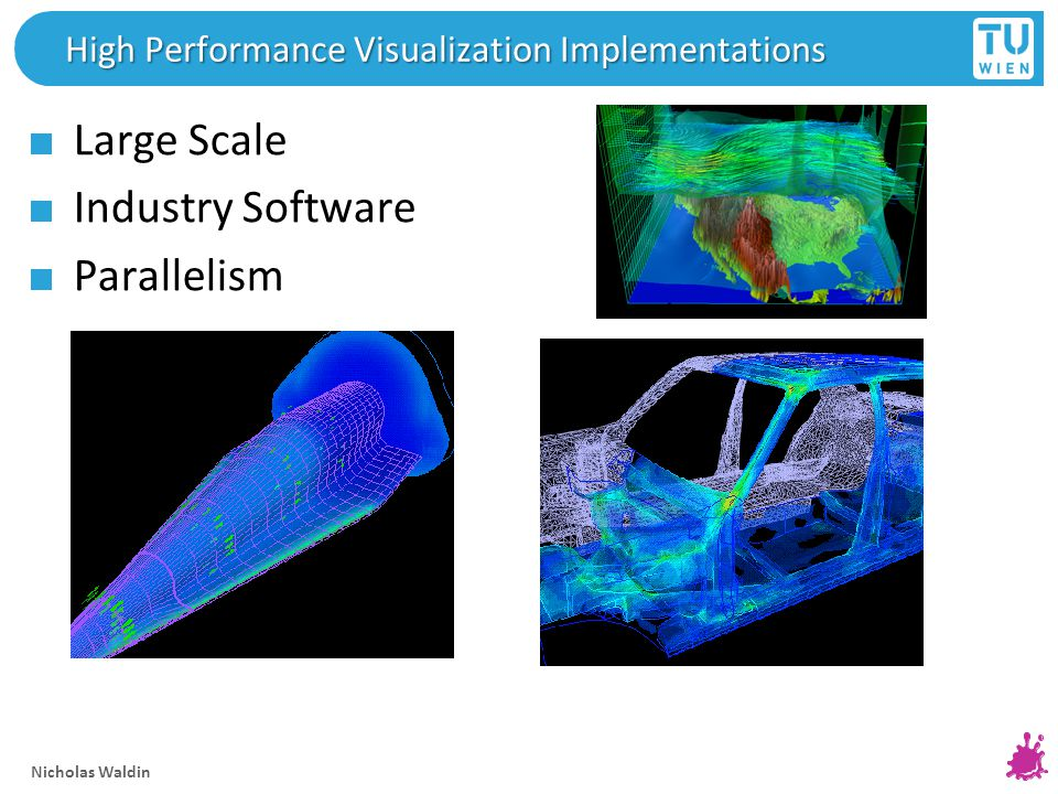 Nicholas Waldin High Performance Visualization Implementations Large Scale Industry Software Parallelism