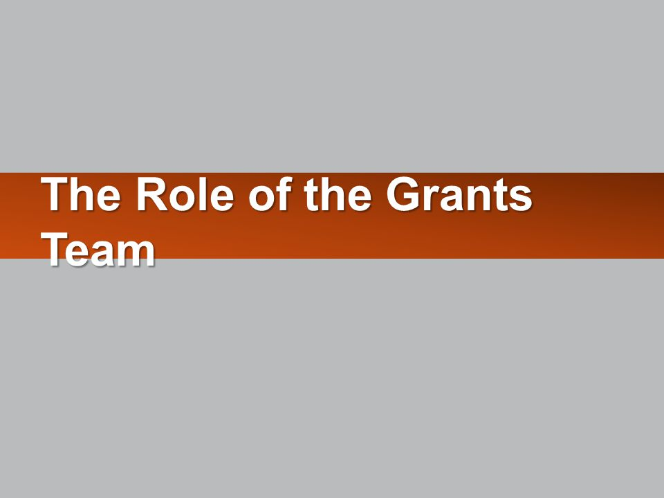 Identified Funding Source Notify your Department Administrator Build Application Route to SPA (Internal Review) Submit Application Proposal Development Build Application  Review the FOA instructions – guide for completing agency grant forms.