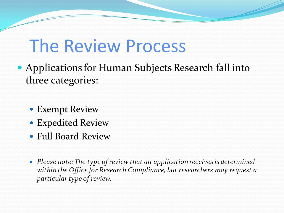 Ways to Submit the Application Our office receives protocol submissions via the following methods Email Traditional Mail eProtocol Submission (online
