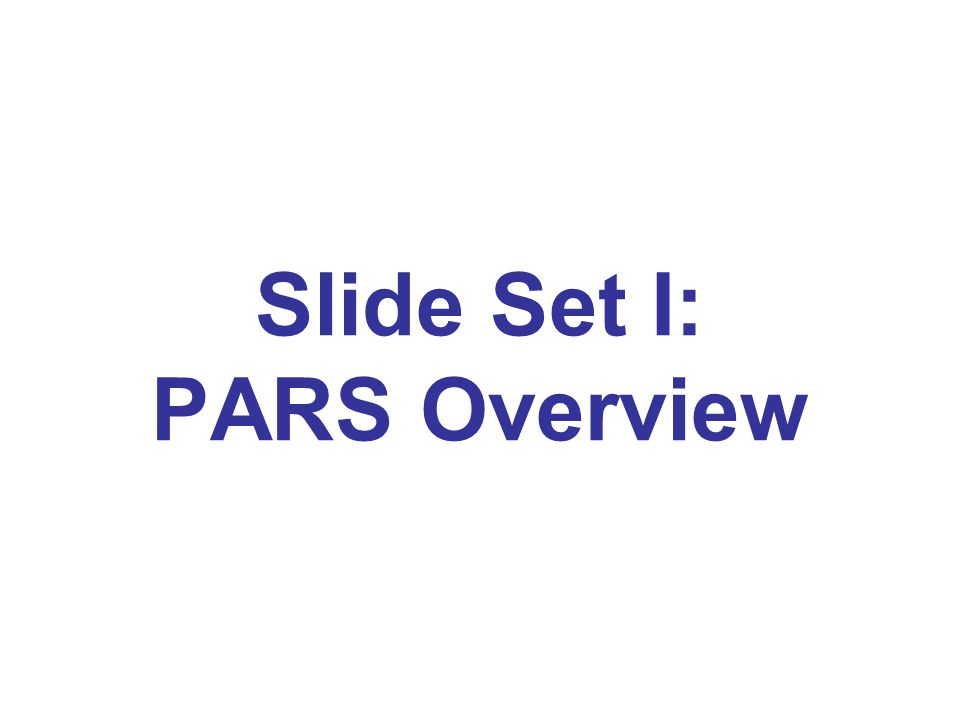 Video Tutorials ACCME has created a series of video tutorials for PARS including: PARS Overview Tab-delimited Batch Upload Entering Activity Data Managing Contact Information Check it Out: Tutorials