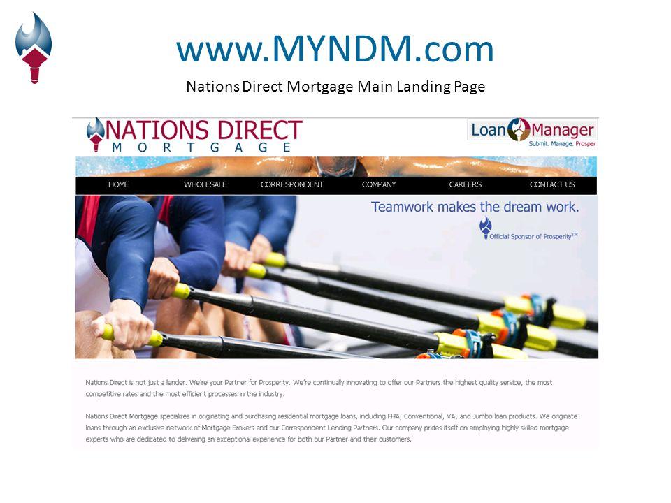 Wholesale Landing Page