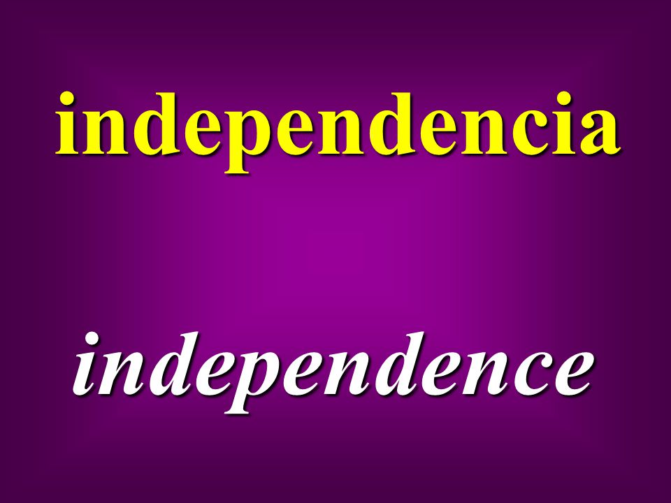independencia independence
