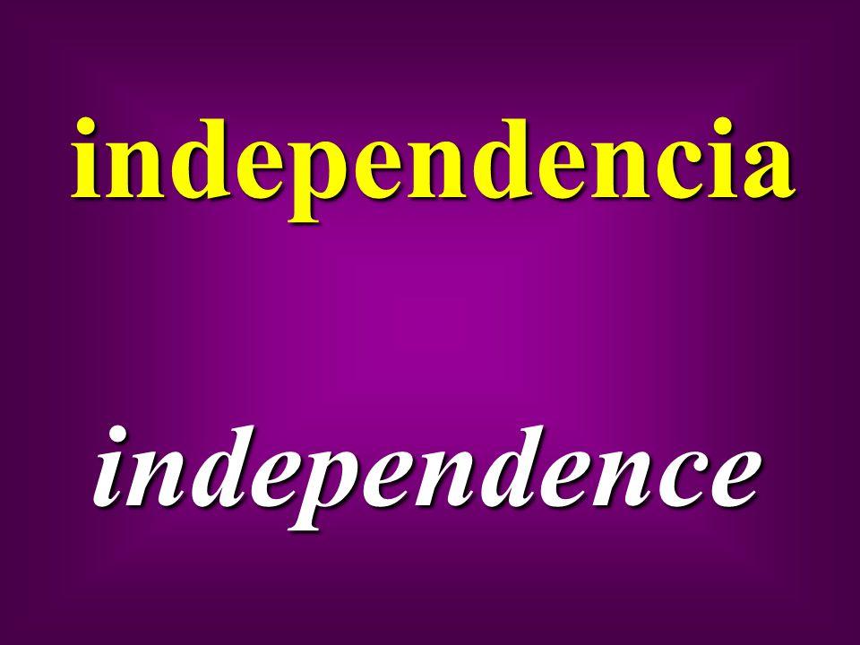 independencia independence