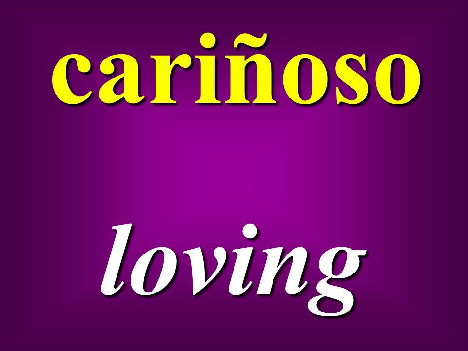cariñosoloving