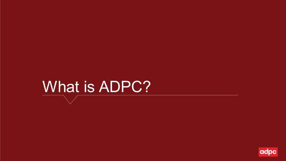 What is ADPC?