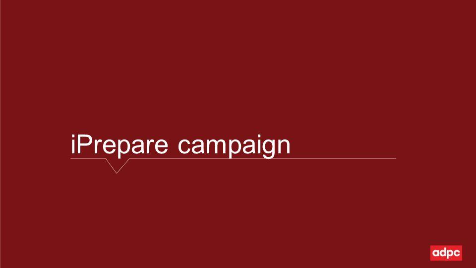 iPrepare campaign