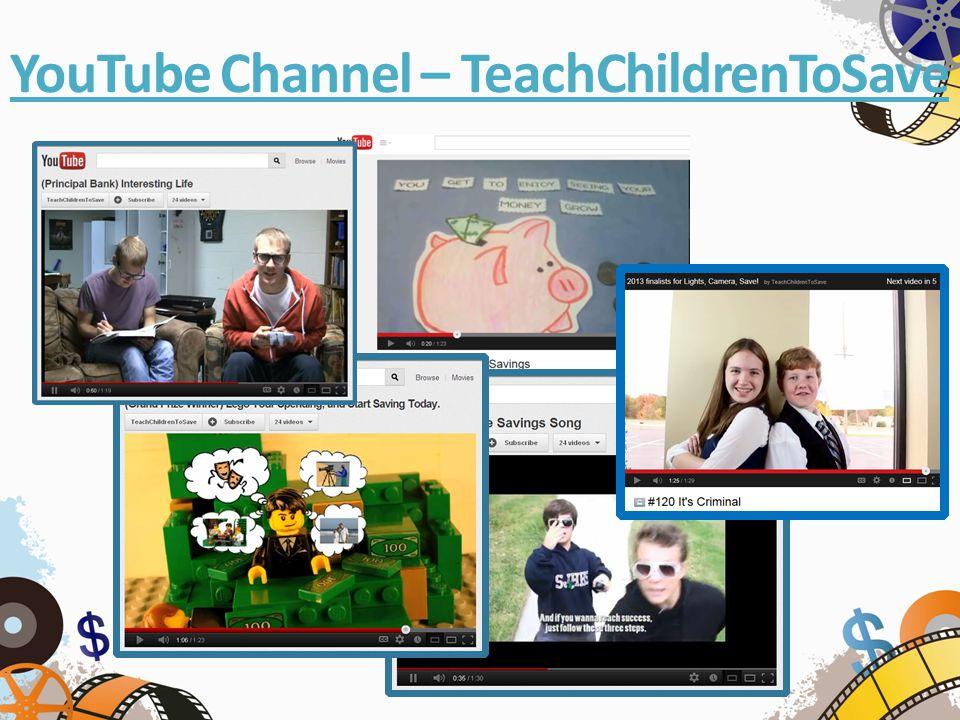 YouTube Channel – TeachChildrenToSave