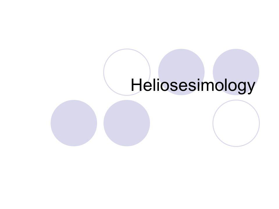 Heliosesimology