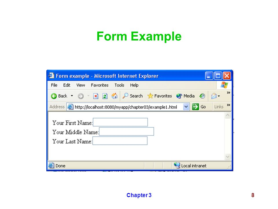 Chapter 38 Form Example