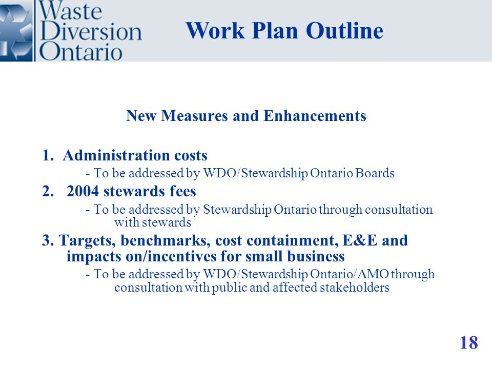New Measures and Enhancements 1.