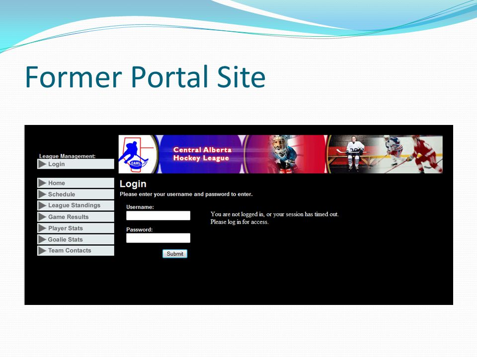 Former Portal Site