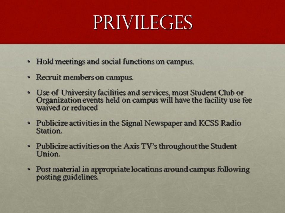 Privileges continued Receive an organization mailbox in SLD.Receive an organization mailbox in SLD.