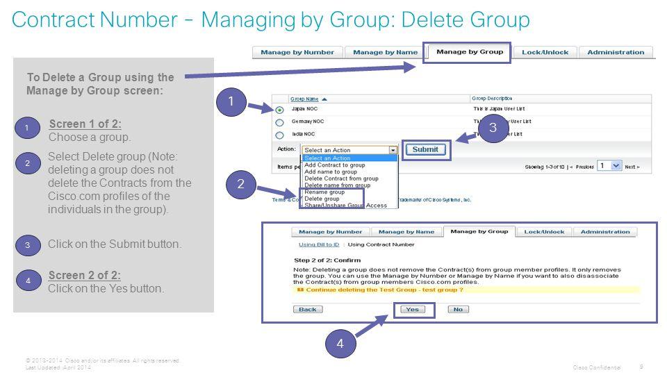 Cisco Confidential 10 © 2013-2014 Cisco and/or its affiliates.