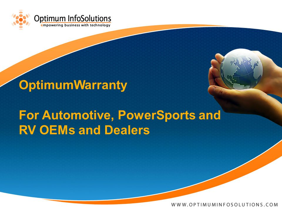 © 2006 Optimum Info Solutions.All Rights Reserved.