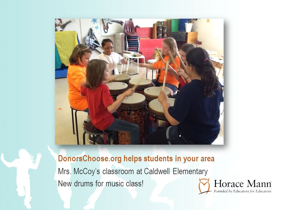 DonorsChoose.org helps students in your area Mrs.