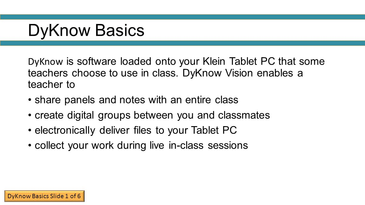 Task 1: Open DyKnow and Sign On Click the Start button in the lower left corner of your screen.