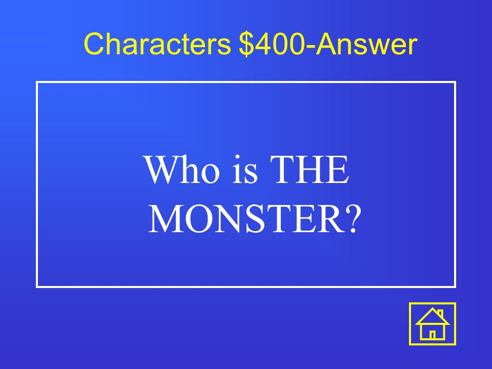 Characters $200-Answer Who is VICTOR?