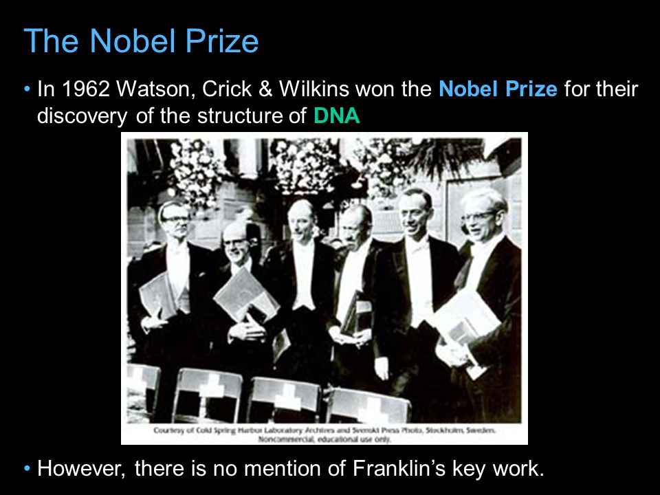 """Watson & Crick quickly published their Scientific Journal called """"Nature"""" on April 25 th 1953 """"Nature"""""""