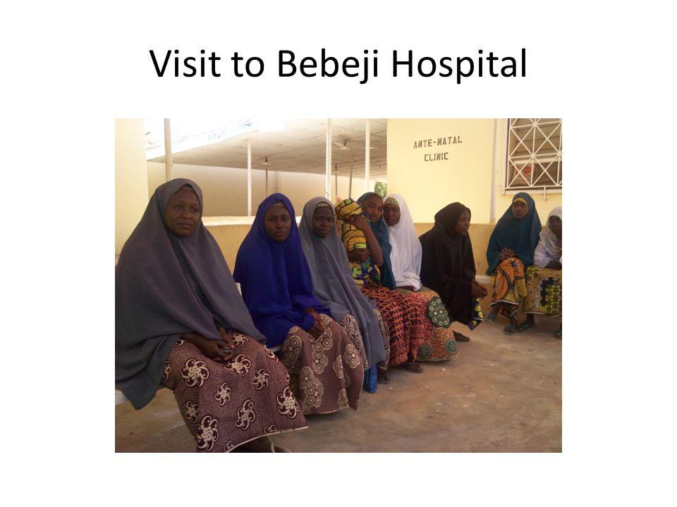 Visit to Bebeji Hospital