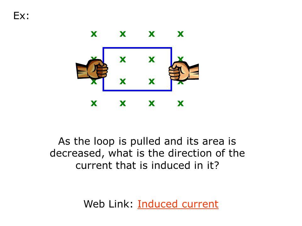 As loop moves left: