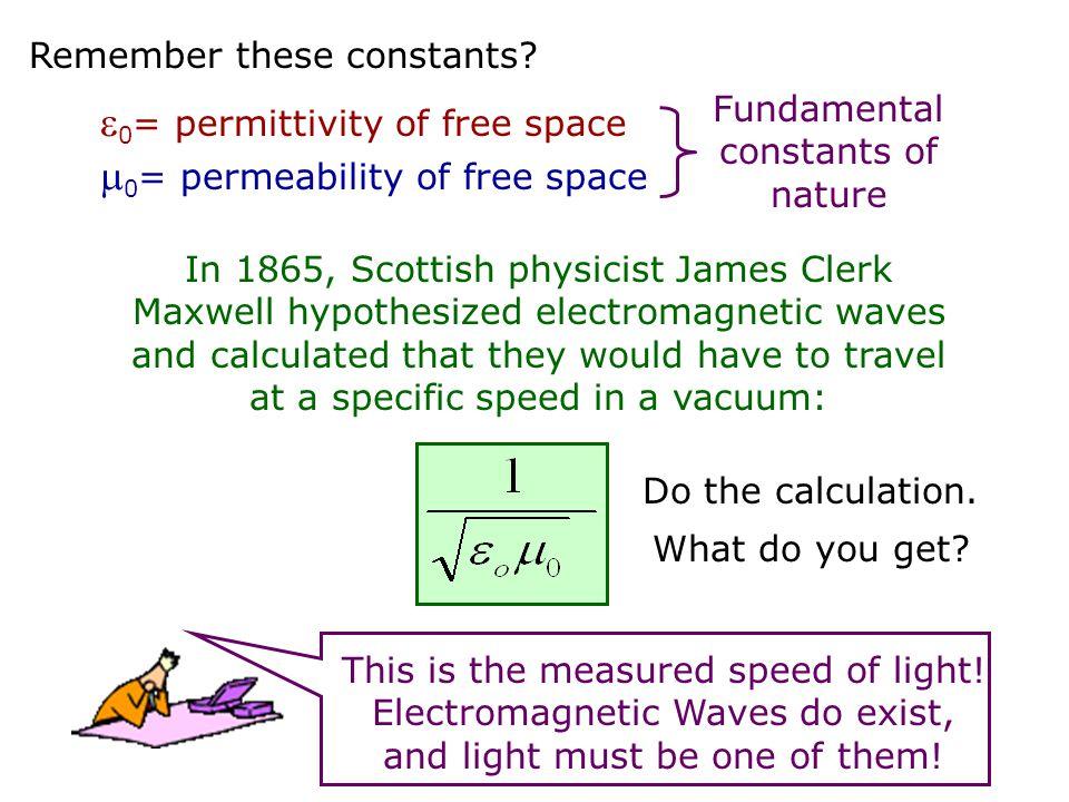 The Electromagnetic (e/m) Spectrum c = f speed of lightfrequency wavelength Web Link: Wavelengths Wavelengths