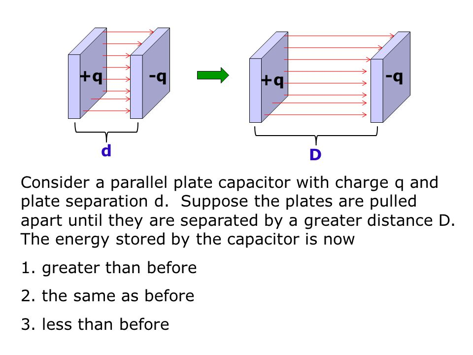 How much Energy is stored by a capacitor.