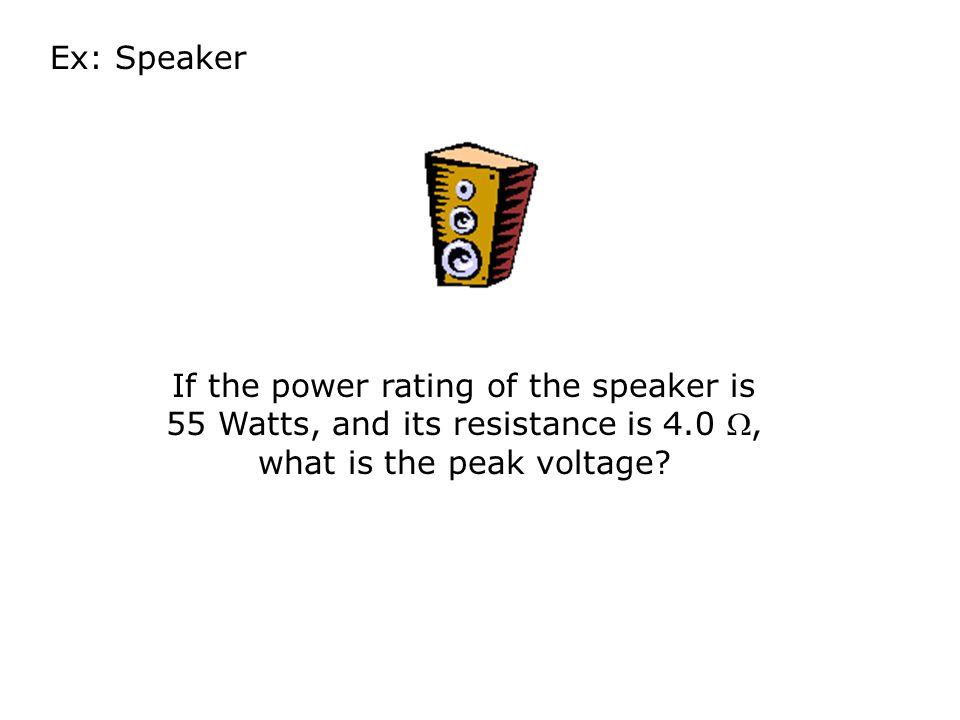look familiar?.AC Power P = I V = .