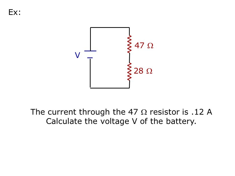 16 V 4444 What is the parallel resistance.