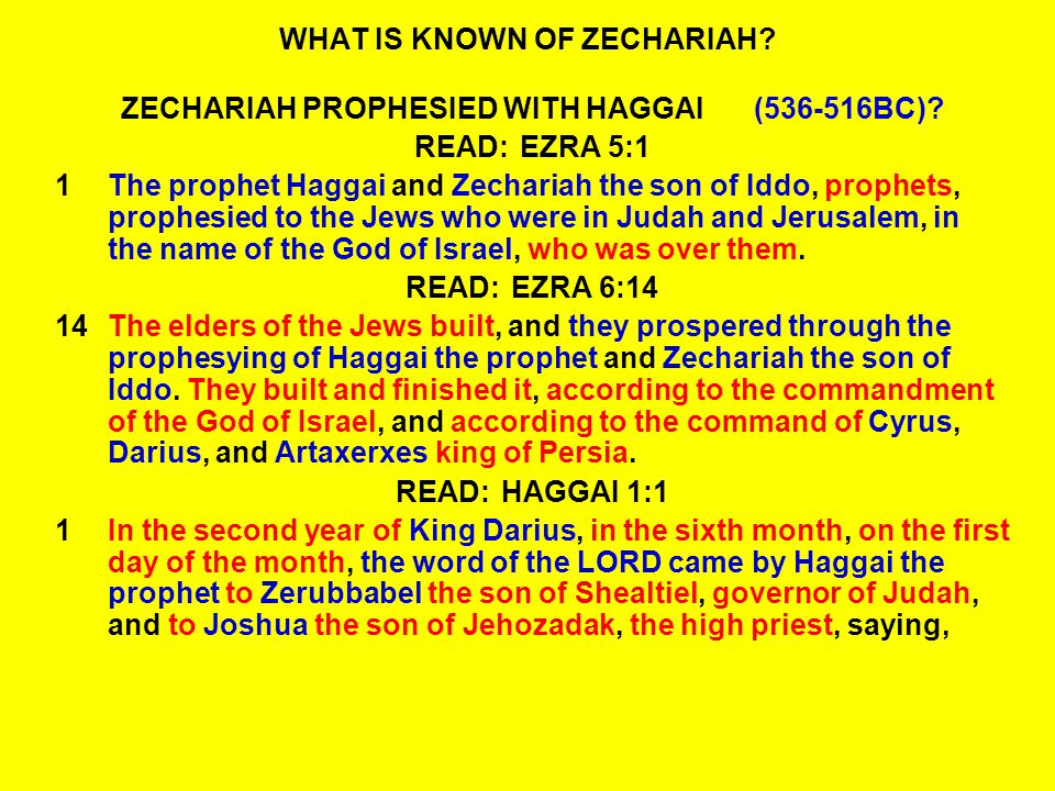 READ: ZECHARIAH 1:16-17 16Therefore thus says the LORD: I am returning to Jerusalem with mercy; my house shall be built in it, says the LORD of hosts, A surveyor s line shall be stretched out over Jerusalem.