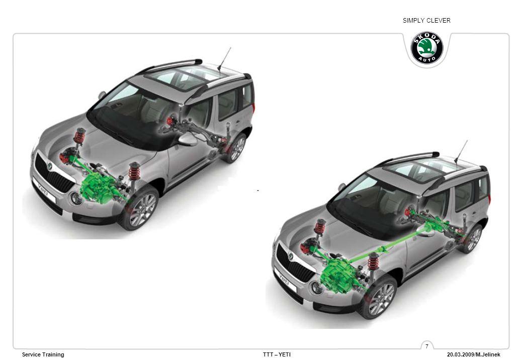 SIMPLY CLEVER Service TrainingTTT – YETI 20.03.2009/M.Jelinek 28 Выключатель airbag переднего пассажира