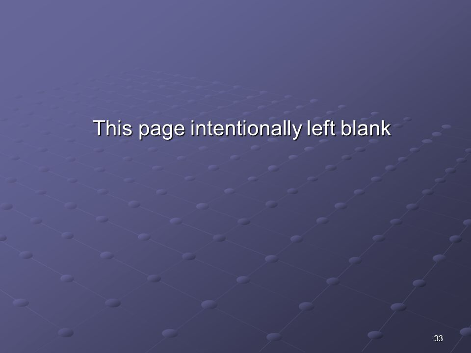 33 This page intentionally left blank This page intentionally left blank