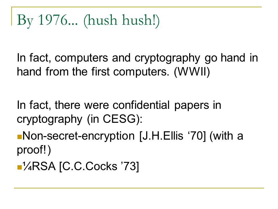 Signature By public key cryptosystem.