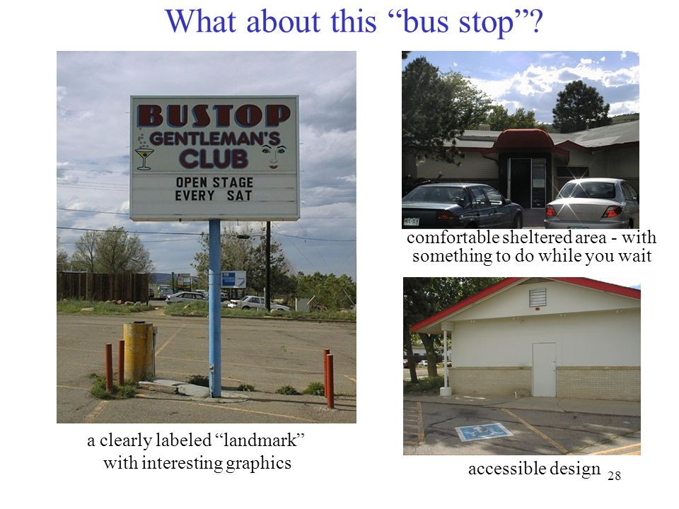 28 What about this bus stop .