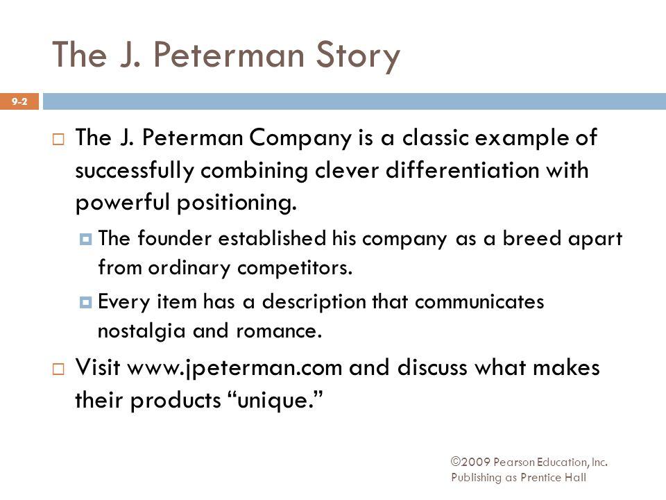 The J.Peterman Story  The J.