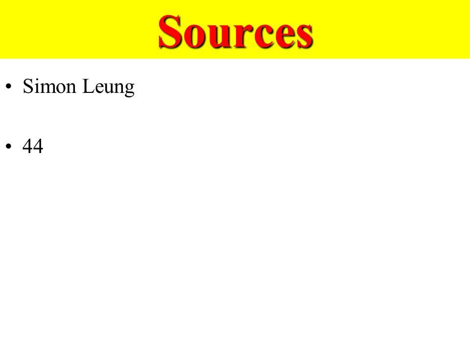 Sources Simon Leung 44