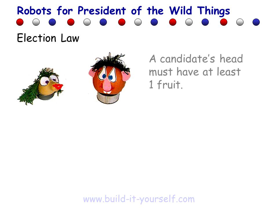 A candidate's head must have at least 1 fruit.