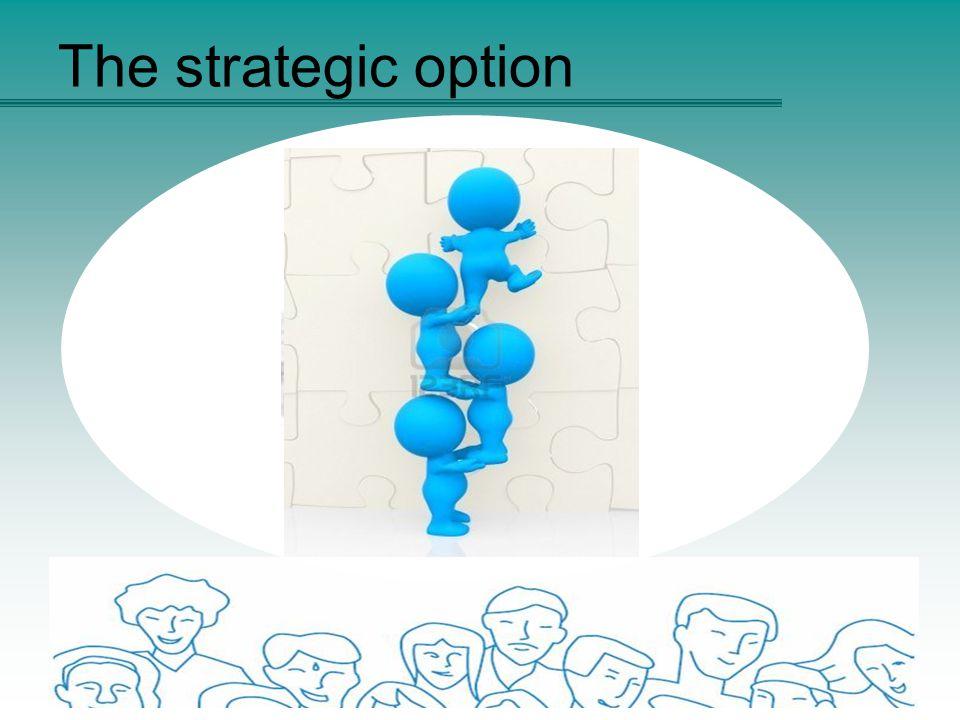 The strategic option