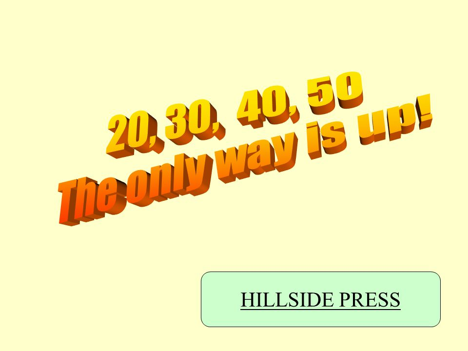 HILLSIDE PRESS