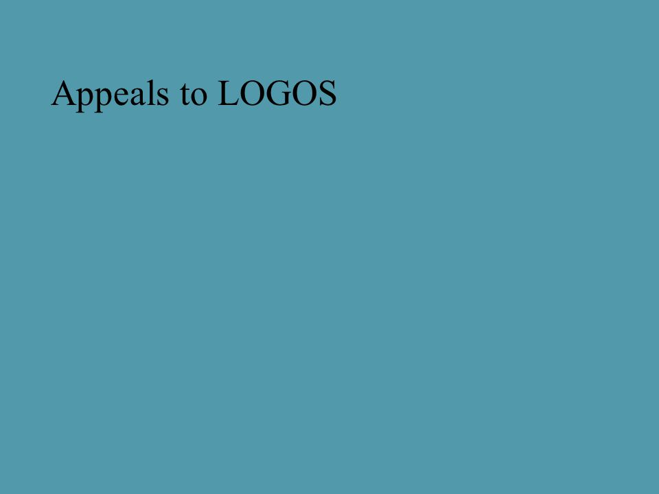 Appeals to LOGOS