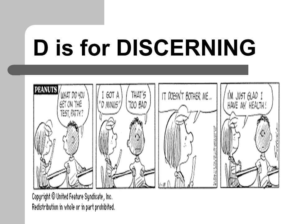 D is for DISCERNING DIOGENES… Or just plain CYNICAL?