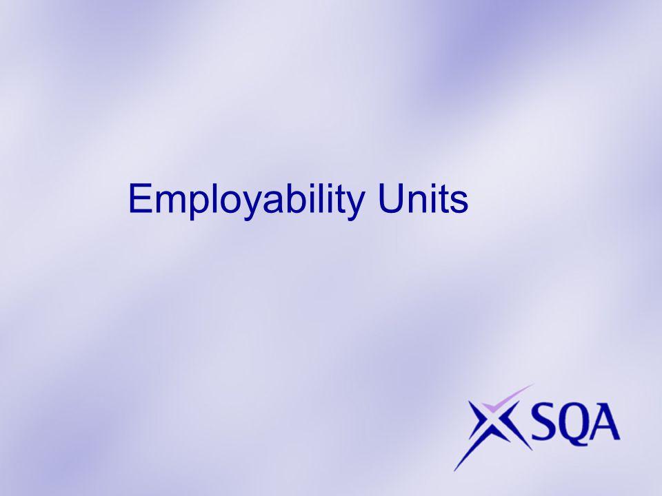 Employability Units