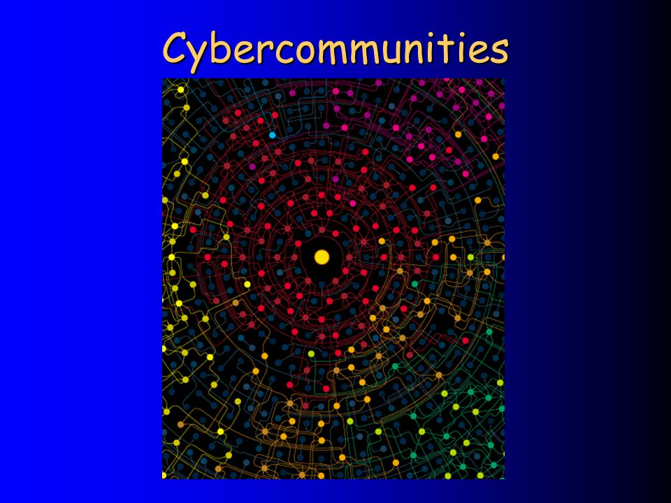Cybercommunities