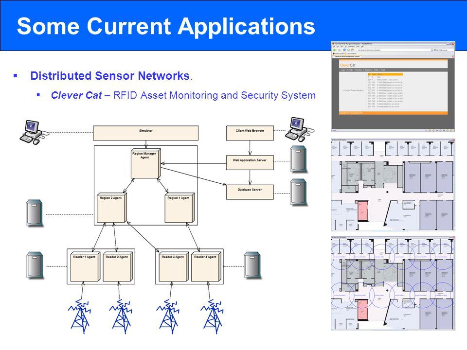 2003 © ChangingWorlds Ltd. Some Current Applications  Distributed Sensor Networks.