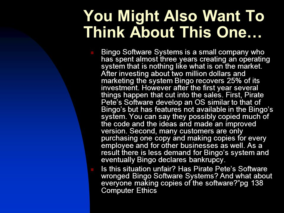 You Might Also Want To Think About This One… Bingo Software Systems is a small company who has spent almost three years creating an operating system that is nothing like what is on the market.