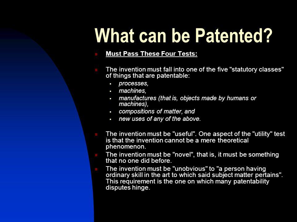 Patents for Algorithms & Software.