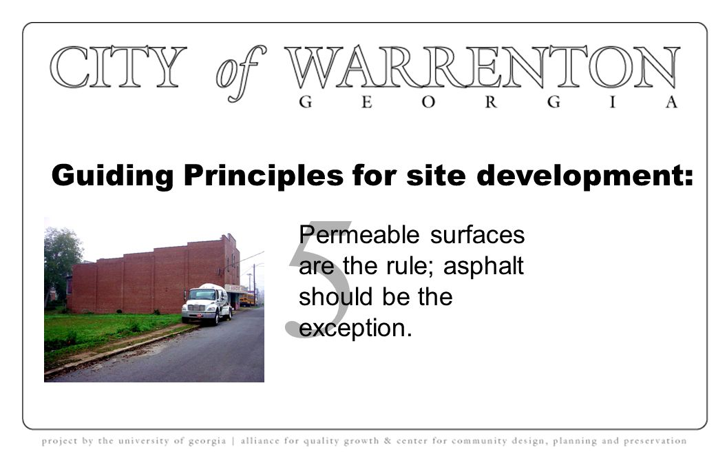 Guiding Principles for site development: 4 No historic buildings should be demolished.